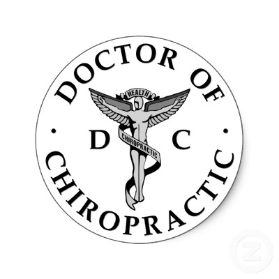The doctor of chiropractic logo